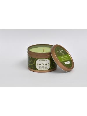 Соевые свечи Оживление, 80 гр Aroma Naturals. Цвет: белый