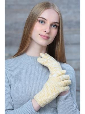 Перчатки Krife. Цвет: светло-бежевый