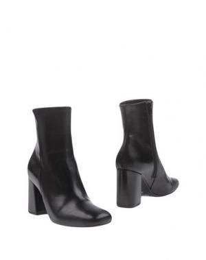 Полусапоги и высокие ботинки LE STELLE. Цвет: черный