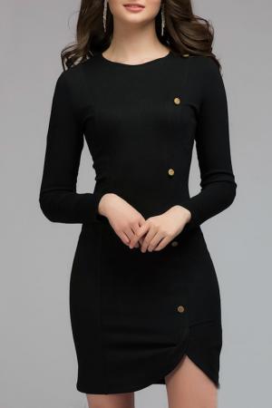 Платье 1001dress. Цвет: черный