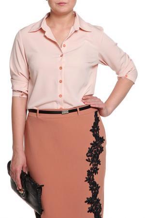 Блуза Pure. Цвет: розовый