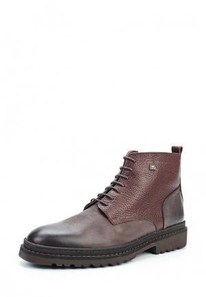 Ботинки Lab-Milano. Цвет: коричневый