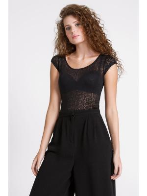 Блузка-боди Concept Club. Цвет: черный
