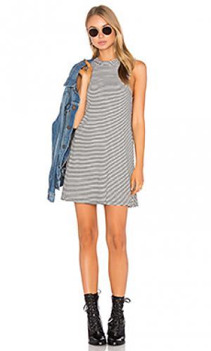 Платье без рукавов slay A Fine Line. Цвет: black & white