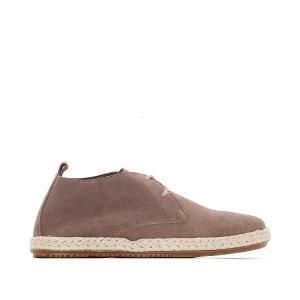 Ботинки-дерби в стиле эспадрилий BENSIMON. Цвет: серо-коричневый
