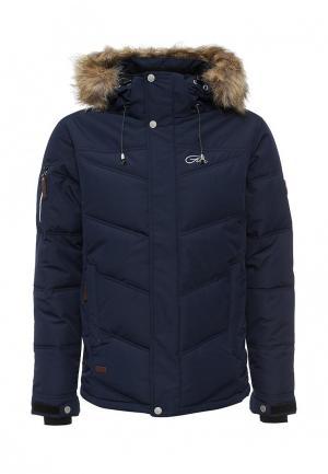 Куртка утепленная FIVE seasons. Цвет: синий