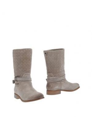 Полусапоги и высокие ботинки TWIN-SET Simona Barbieri. Цвет: песочный