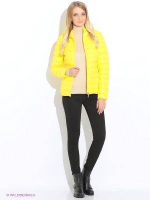 Пуховик GEOX. Цвет: желтый