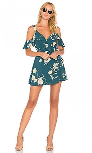 Платье hamlet Privacy Please. Цвет: зеленый