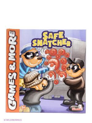 Игра настольная Грабители сейфов 6/24 Simba. Цвет: голубой, синий