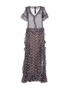 Длинное платье KRISTINA TI. Цвет: пурпурный