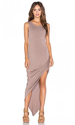 Платье dawn De Lacy. Цвет: серо-коричневый