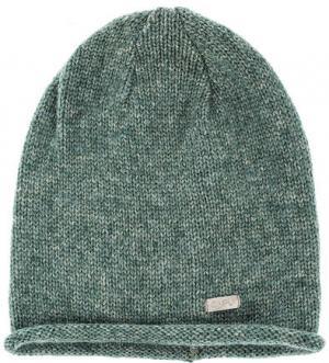 Зеленая трикотажная шапка Capo. Цвет: зеленый