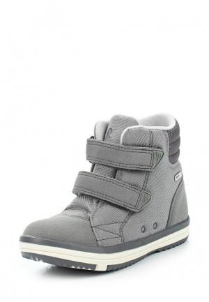 Ботинки Reima. Цвет: серый