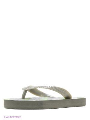 Шлепанцы LAMALIBOO. Цвет: серый