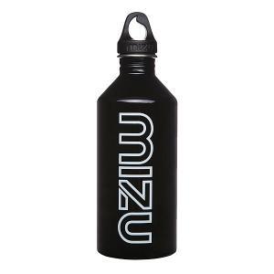 Бутылка для воды  M12 1200ml Glossy Black Gitd Print Mizu. Цвет: черный