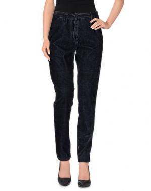 Повседневные брюки LIVE CONCEPT. Цвет: темно-синий