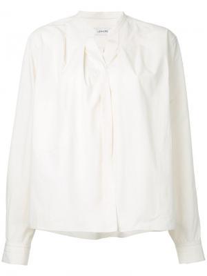 Wrap-over shirt Lemaire. Цвет: телесный