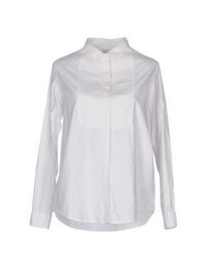 Pубашка SWILDENS. Цвет: белый