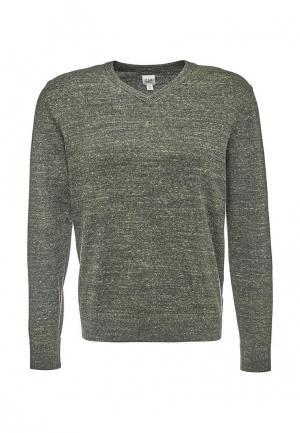 Пуловер Gap. Цвет: зеленый