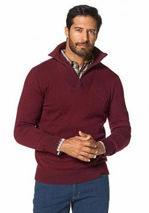 Пуловер GREY CONNECTION. Цвет: ярко-красный