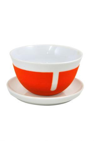 Салатник KAHLA. Цвет: оранжевый