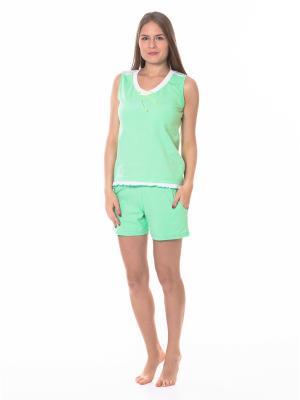 Пижамы Flip. Цвет: салатовый