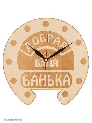 Часы для бани бондар Ч-ГП Метиз. Цвет: желтый
