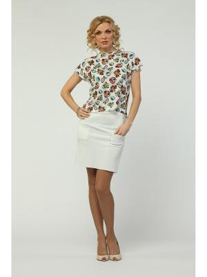 Блузка KATA BINSKA. Цвет: белый