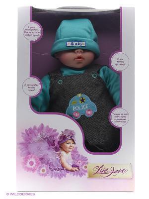 Кукла интерактивная 40см Lisa Jane. Цвет: голубой