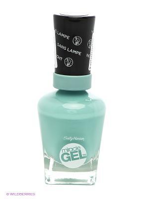 Гель Лак Для Ногтей Miracle Gel тон 155 SALLY HANSEN. Цвет: бирюзовый