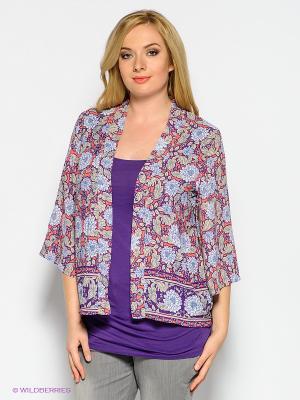 Жакет New Look. Цвет: фиолетовый, бежевый, коралловый, белый, темно-синий
