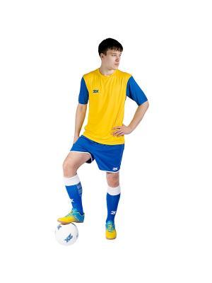 Футболка игровая Shift 2K. Цвет: желтый, синий