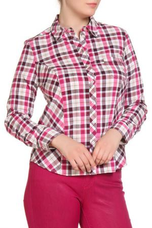 Блуза FIORA BLUE. Цвет: ярко-розовый