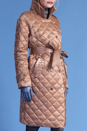 Пальто Naumi. Цвет: бежевый