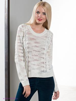 Свитер Lily Lurex Pullover Sweater Jeanswest. Цвет: белый, серебристый