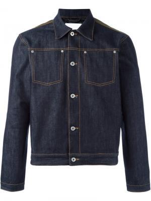 Джинсовая куртка Renton Matthew Miller. Цвет: синий
