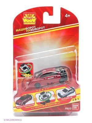 Игрушка Voov Mitsubishi Lancer Evolution - Полицейский патруль Bandai. Цвет: красный