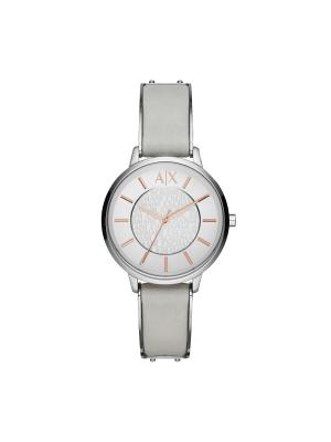 Часы Armani Exchange. Цвет: серый, золотистый, серебристый