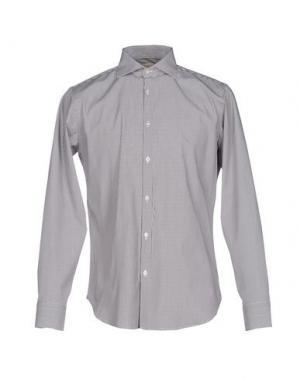 Pубашка MICHAEL COAL. Цвет: серый