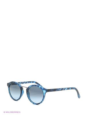 Солнцезащитные очки Franco Sordelli. Цвет: синий