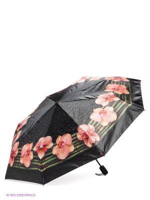 Зонт Zemsa. Цвет: черный, желтый, красный