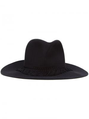 Шляпа федора Kijima Takayuki. Цвет: чёрный