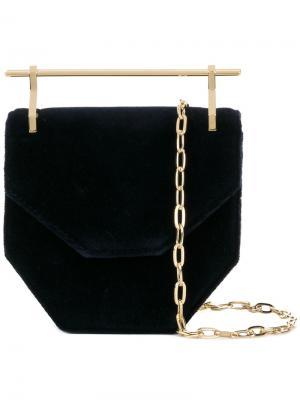 Мини сумка на плечо Amor Fati M2malletier. Цвет: синий