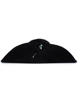 Широкополая шляпа Piers Atkinson. Цвет: чёрный