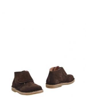 Полусапоги и высокие ботинки OCA-LOCA. Цвет: какао