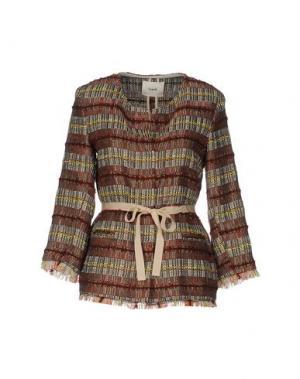 Пиджак SUOLI. Цвет: ржаво-коричневый