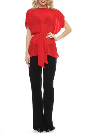 Блузка Ki6 collection. Цвет: красный
