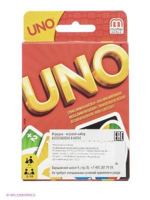 Карточная игра УНО Games. Цвет: белый