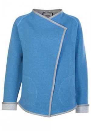 Пончо MAX & MOI. Цвет: голубой